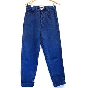 Guess   VTG High Rise Dark Blue Wash Denim Jeans